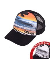Trucker Hat - Ocean Surf Blk