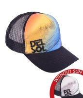 Trucker Hat - Beach Days Blk